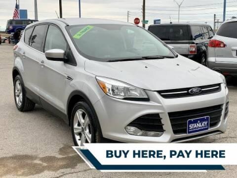 2015 Ford Escape for sale at Stanley Automotive Finance Enterprise - STANLEY DIRECT AUTO in Mesquite TX