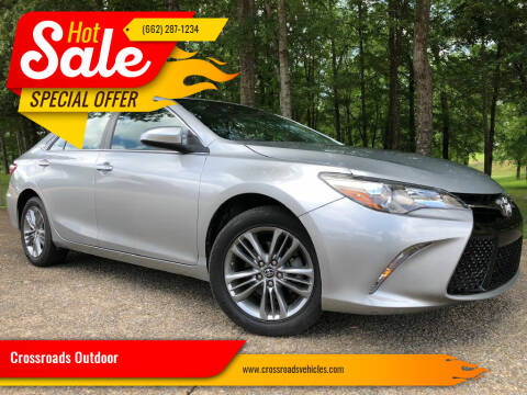 2016 Toyota Camry for sale at Crossroads Outdoor in Corinth MS