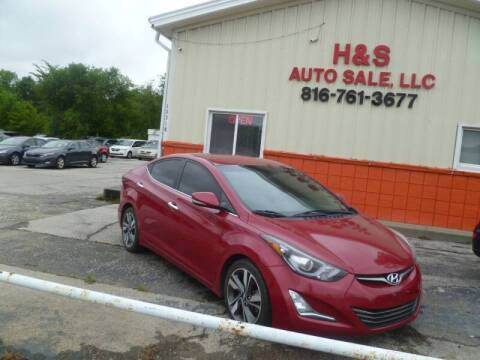 2014 Hyundai Elantra for sale at H & S Auto Sale LLC in Grandview MO