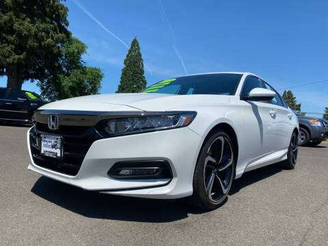 2018 Honda Accord for sale at Pacific Auto LLC in Woodburn OR