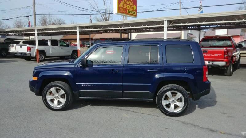 2014 Jeep Patriot for sale at Lewis Used Cars in Elizabethton TN