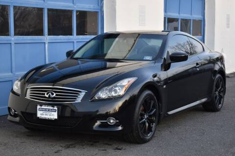 2014 Infiniti Q60 Coupe for sale at IdealCarsUSA.com in East Windsor NJ