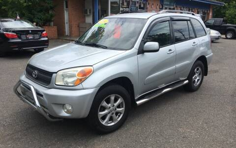 2004 Toyota RAV4 for sale at CENTRAL GROUP in Raritan NJ