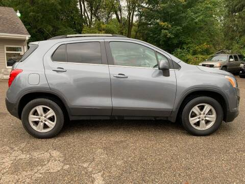 2015 Chevrolet Trax for sale at SS AUTO PRO'S in Otsego MI