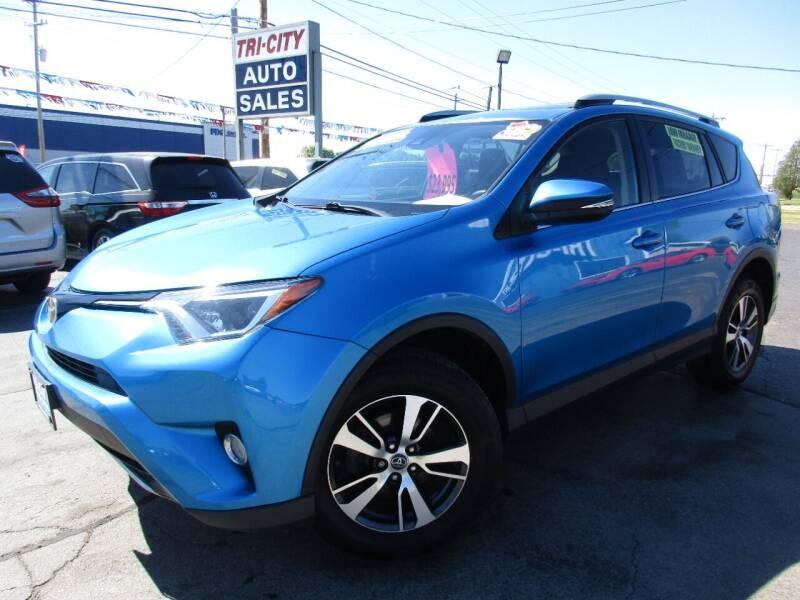 2017 Toyota RAV4 for sale at TRI CITY AUTO SALES LLC in Menasha WI