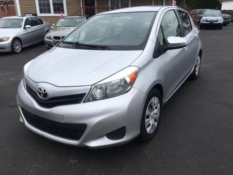 2012 Toyota Yaris for sale at Lux Car Sales in South Easton MA