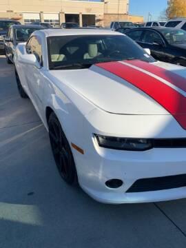 2015 Chevrolet Camaro for sale at HERMANOS SANCHEZ AUTO SALES LLC in Dallas TX