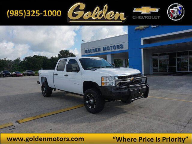 2014 Chevrolet Silverado 3500HD for sale at GOLDEN MOTORS in Cut Off LA