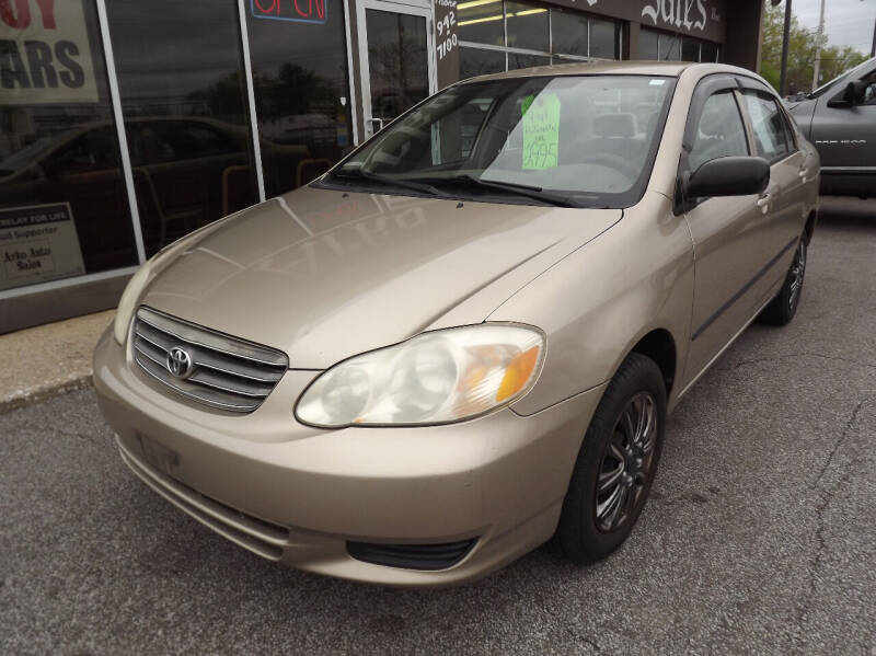 2004 Toyota Corolla for sale at Arko Auto Sales in Eastlake OH