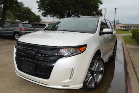2014 Ford Edge for sale at E-Auto Groups in Dallas TX