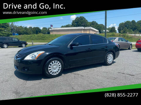 2011 Nissan Altima for sale at Drive and Go, Inc. in Hickory NC