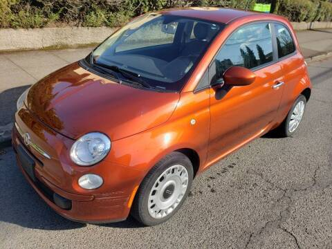 2012 FIAT 500 for sale at KC Cars Inc. in Portland OR