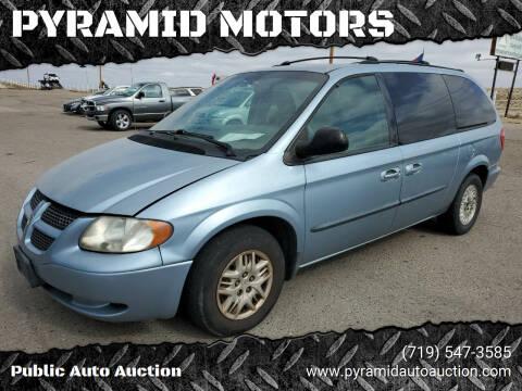 2003 Dodge Grand Caravan for sale at PYRAMID MOTORS - Pueblo Lot in Pueblo CO