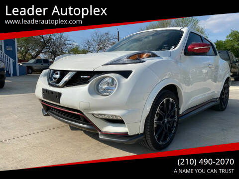 2015 Nissan JUKE for sale at Leader Autoplex in San Antonio TX