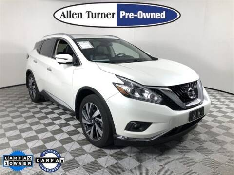 2018 Nissan Murano for sale at Allen Turner Hyundai in Pensacola FL