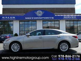 2017 Lexus ES 350 for sale at Highline Group Motorsports in Lowell MA