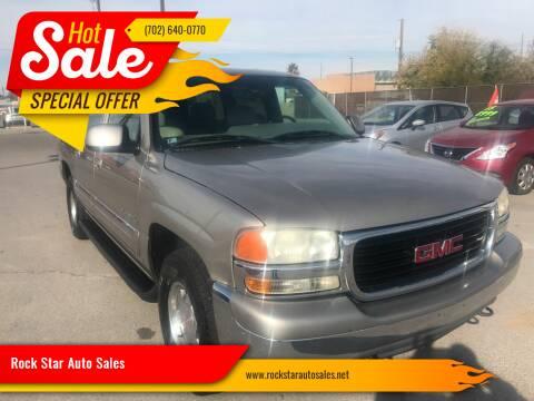 2001 GMC Yukon XL for sale at Rock Star Auto Sales in Las Vegas NV