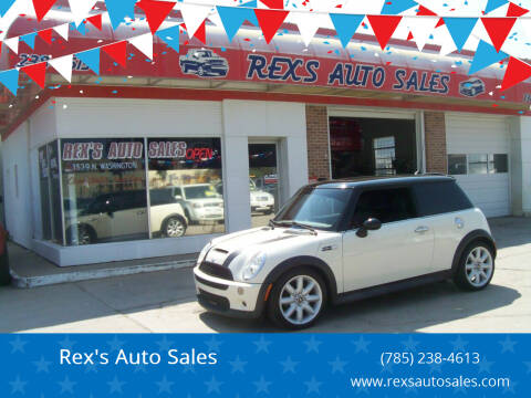2006 MINI Cooper for sale at Rex's Auto Sales in Junction City KS