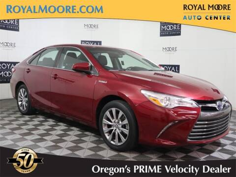 2015 Toyota Camry Hybrid for sale at Royal Moore Custom Finance in Hillsboro OR
