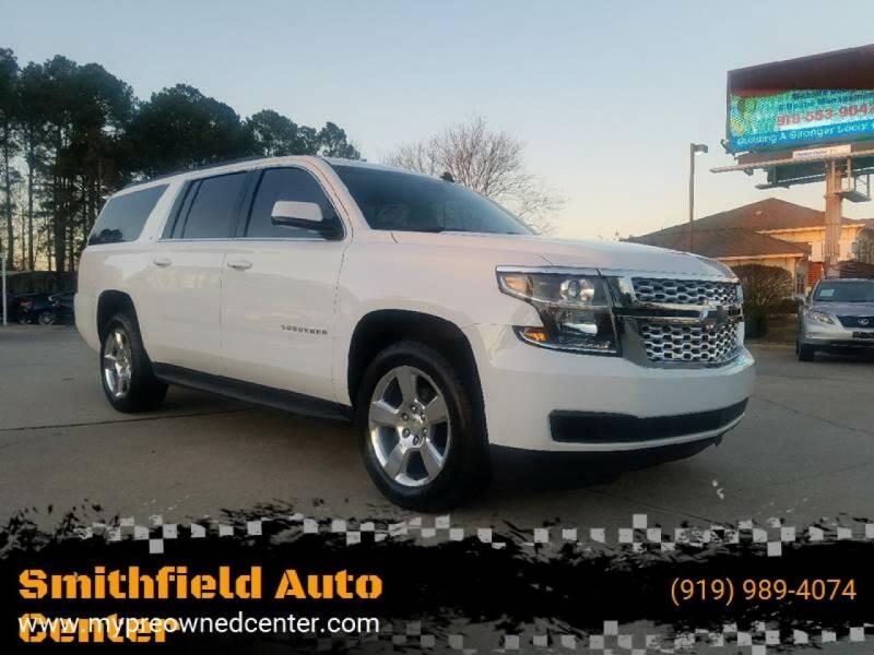 2015 Chevrolet Suburban for sale at Smithfield Auto Center LLC in Smithfield NC