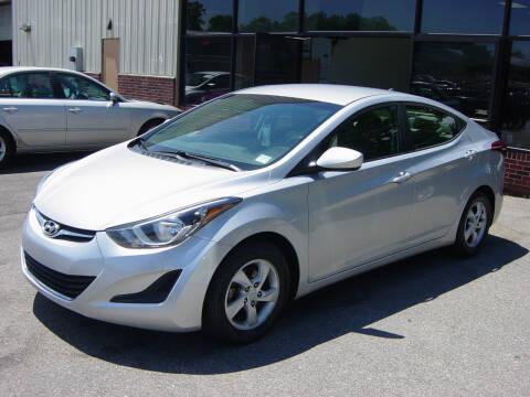 2014 Hyundai Elantra for sale at North South Motorcars in Seabrook NH