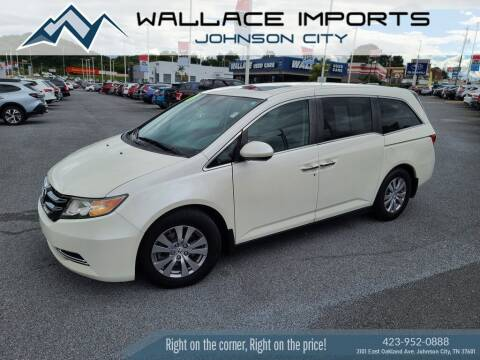 2016 Honda Odyssey for sale at WALLACE IMPORTS OF JOHNSON CITY in Johnson City TN