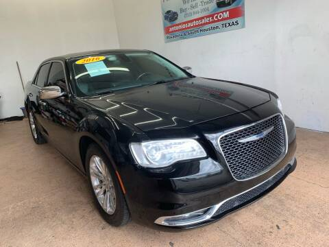 2016 Chrysler 300 for sale at Antonio's Auto Sales - Antonio`s  3001 in Pasadena TX