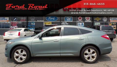 2012 Honda Crosstour for sale at Ford Road Motor Sales in Dearborn MI