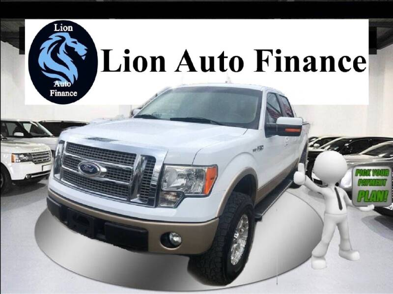 2012 Ford F-150 for sale at Lion Auto Finance in Houston TX