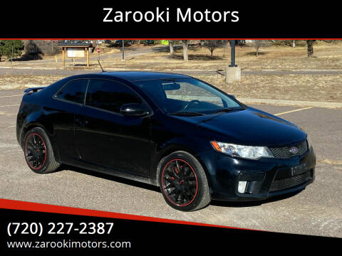 2012 Kia Forte Koup for sale at Zarooki Motors in Englewood CO