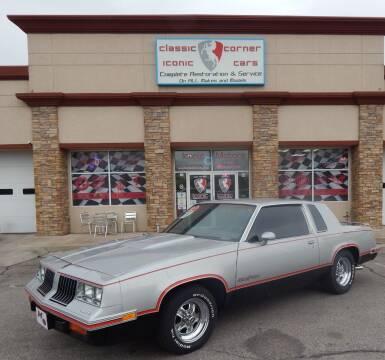 1984 Oldsmobile Cutlass Calais for sale at Iconic Motors of Oklahoma City, LLC in Oklahoma City OK