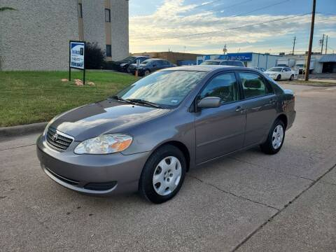 2008 Toyota Corolla for sale at DFW Autohaus in Dallas TX