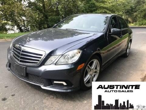 2011 Mercedes-Benz E-Class for sale at Austinite Auto Sales in Austin TX