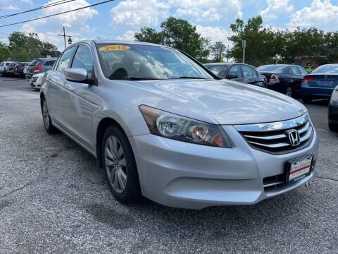 2012 Honda Accord for sale at Alpina Imports in Essex MD
