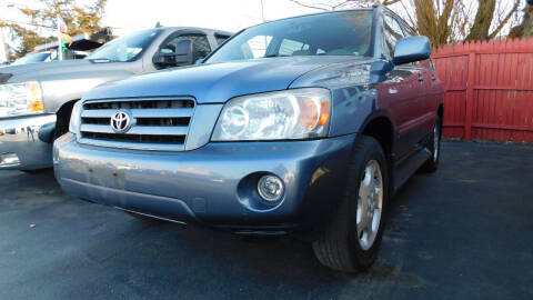 2006 Toyota Highlander for sale at Action Automotive Service LLC in Hudson NY
