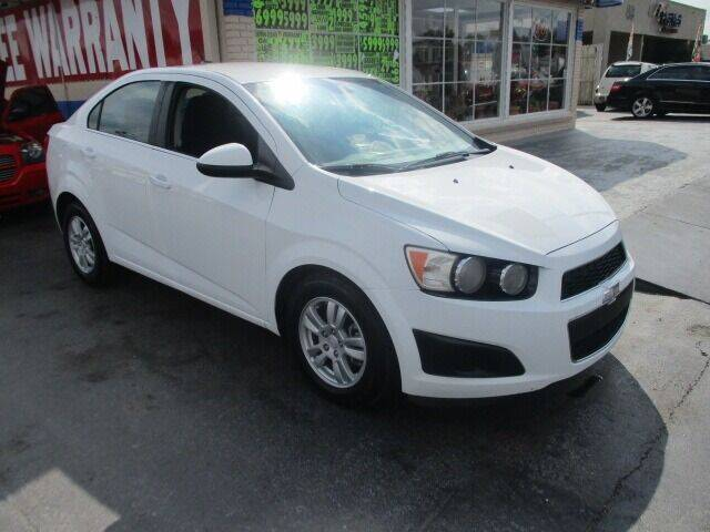 2012 Chevrolet Sonic for sale at CAR SOURCE OKC - CAR ONE in Oklahoma City OK