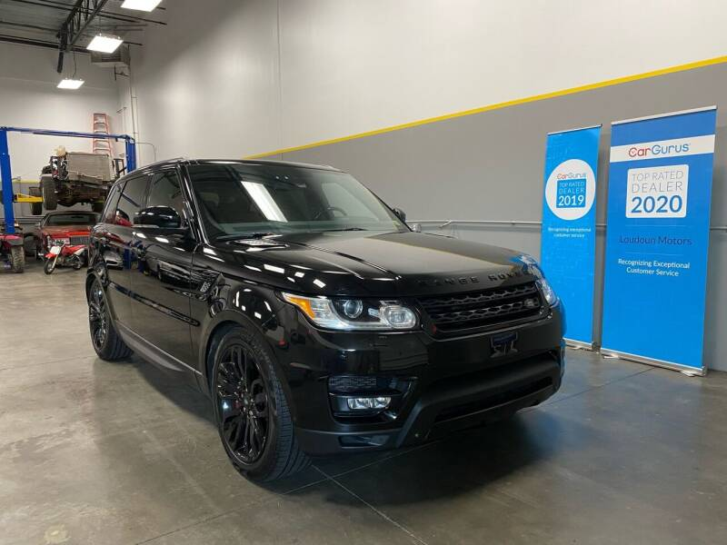 2015 Land Rover Range Rover Sport for sale at Loudoun Motors in Sterling VA