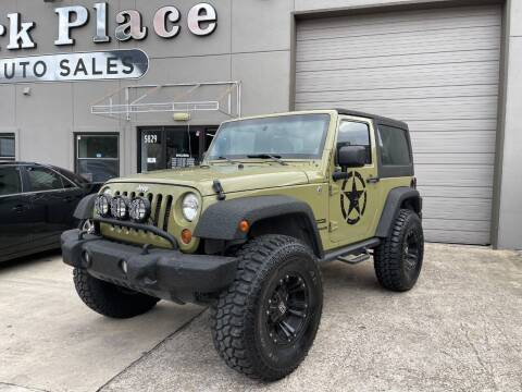 2013 Jeep Wrangler for sale at PARK PLACE AUTO SALES in Houston TX