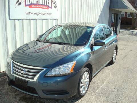 2015 Nissan Sentra for sale at Team Knipmeyer in Beardstown IL