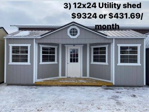 2021 Old Hickory Sheds, Lofter Barn Shed n Barns for sale at Cannon Falls Auto Sales in Cannon Falls MN