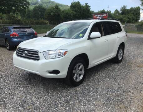 2010 Toyota Highlander for sale at Arden Auto Outlet in Arden NC