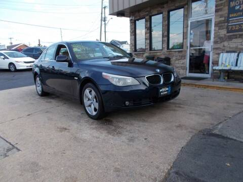 2007 BMW 5 Series for sale at Preferred Motor Cars of New Jersey in Keyport NJ