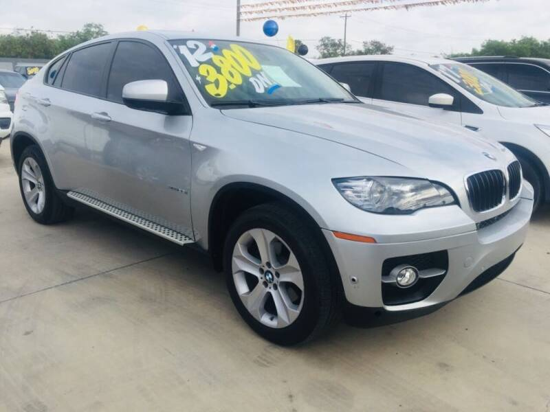 2012 BMW X6 for sale at A & V MOTORS in Hidalgo TX