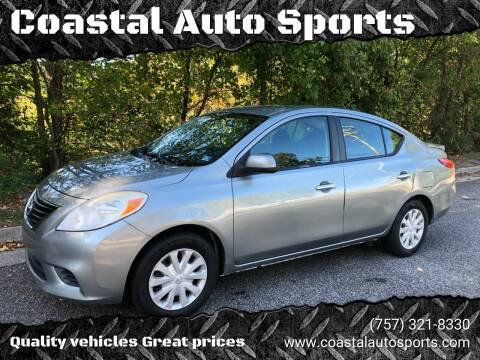 2013 Nissan Versa for sale at Coastal Auto Sports in Chesapeake VA