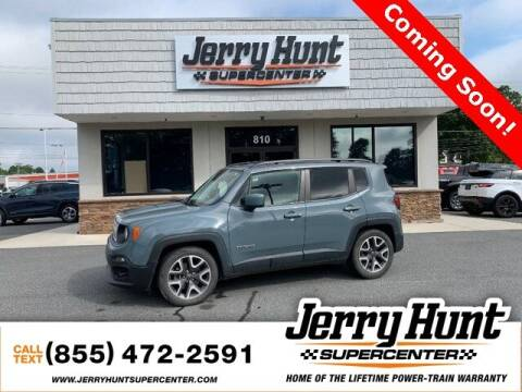 2017 Jeep Renegade for sale at Jerry Hunt Supercenter in Lexington NC