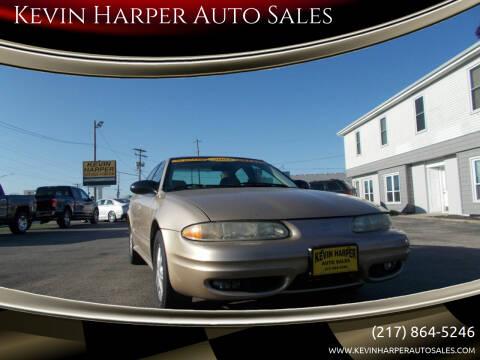 2003 Oldsmobile Alero for sale at Kevin Harper Auto Sales in Mount Zion IL