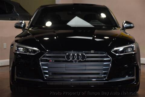 2018 Audi S5 for sale at Tampa Bay AutoNetwork in Tampa FL