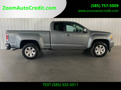 2018 GMC Canyon for sale at ZoomAutoCredit.com in Elba NY