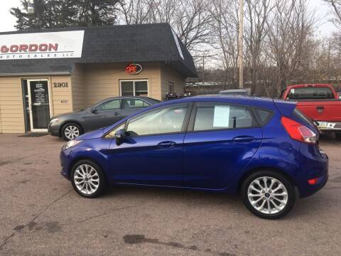 2014 Ford Fiesta for sale at Gordon Auto Sales LLC in Sioux City IA