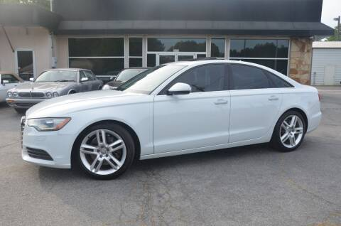 2014 Audi A6 for sale at Amyn Motors Inc. in Tucker GA